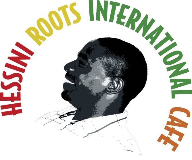 Hessini Roots International Cafe full color logo