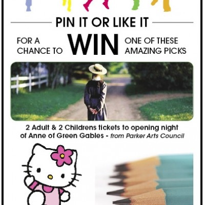 Celebration Of Children Pinterest giveaway campaign