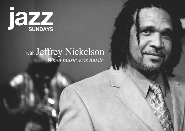 Jeffrey Nickelson introduces Jazz Sundays at Shadow Theatre Company campaign