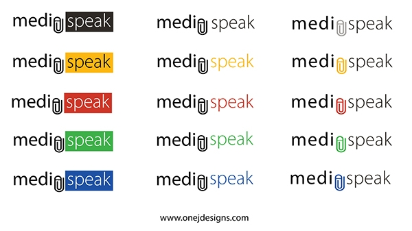 Media Speak Color Logos