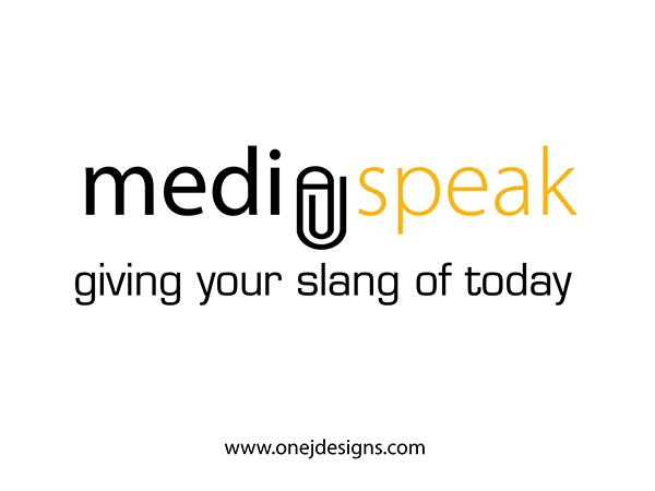 Media Speak Final logo design