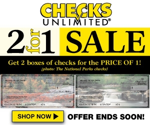 Deluxe Checks 300x250 banner ad