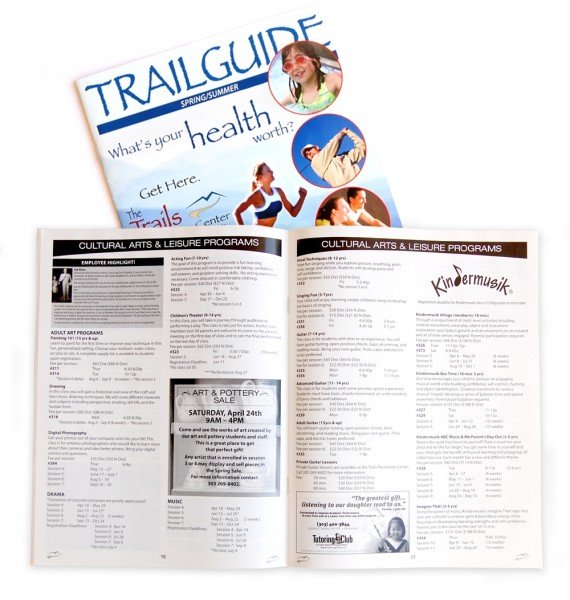 Trail Recreational Guide Catalog