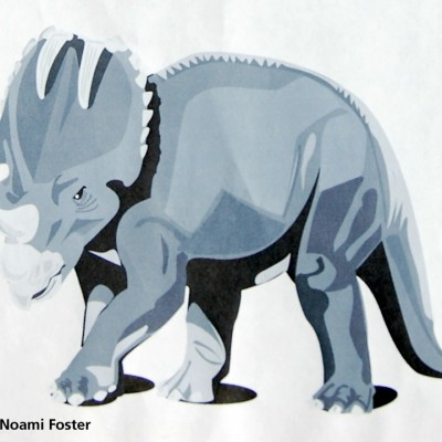 Illustration of a dinosaur