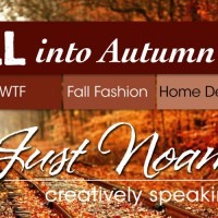 Fall Into Autumn craft, food, fashion, home decor, outings with leaves on railroad tracks