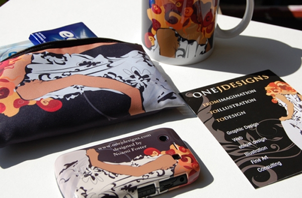 onejdesigns wristlet, phone case, mug, postcard designed by Noami Foster