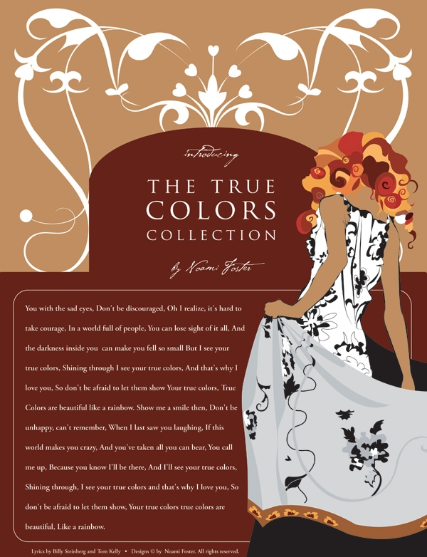 The True Colors Collection Poster