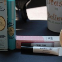 Package Design for Too Faced Lip Primer and Bare Minerals Eye Primer
