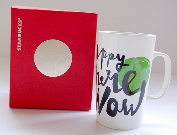 Starbucks red gift box and mug