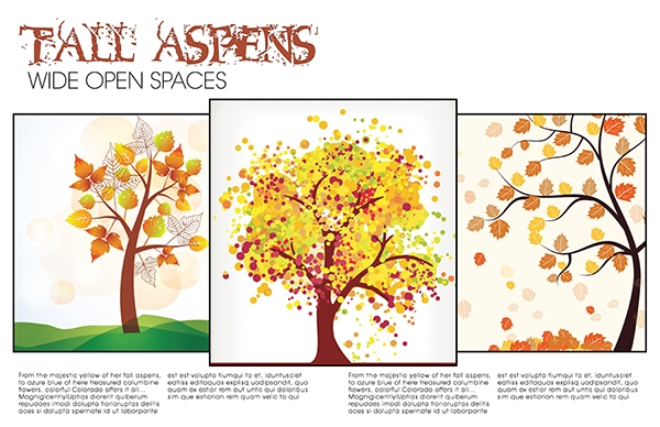 Tall Aspens magazine layout makeover 2