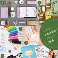 Kikki K planner, Rifle Paper stationery, Minted, Frixion markets, Zazzle stationery