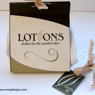 Lotions full package design