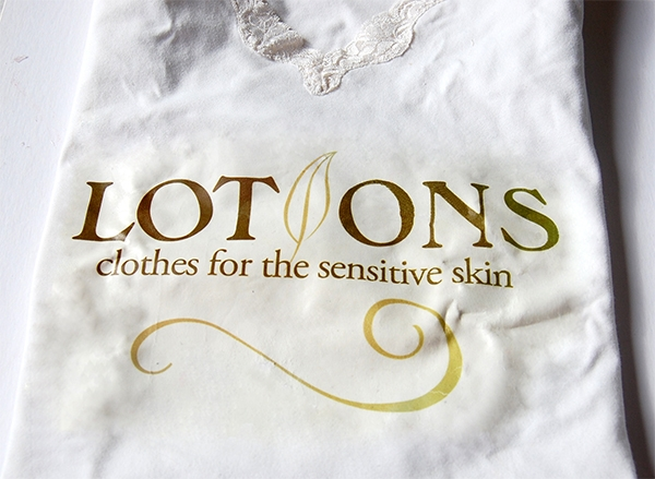 Lotion logo t-shirt design by Noami Foster