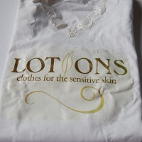 Before image of the Lotions Logo t-shirt