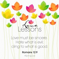 Love Lesson 3 Romans 12:9 Wallpaper