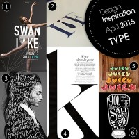 Design Inspiration April 2015 7 different type ideas