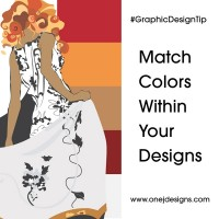 Graphic Design Tip Match Colors