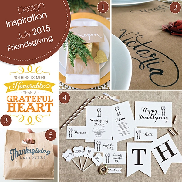 Friendsgiving Design Inspiration