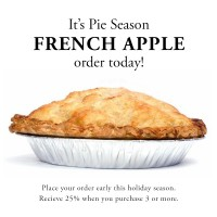 Frech Apple Pie advertisement