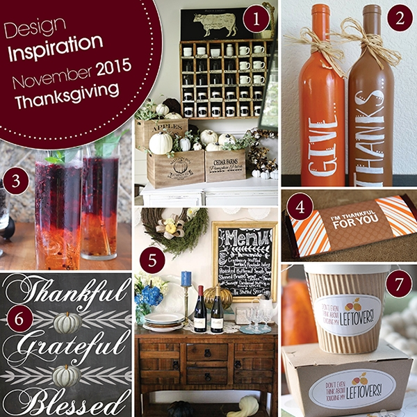 November Design Inspiration Thanksgiving