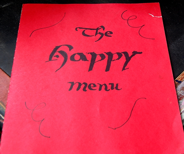 The Happy Menu Front Cover