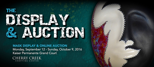 The Mask Project Auction banner