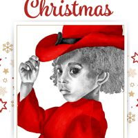 Red Girl 1 from The True Colors Collection Merry Christmas ecard