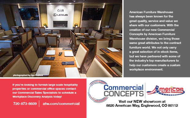 AFW Commercial Concepts half page ad with Colorado Biz magazine May June 2017 spec 1