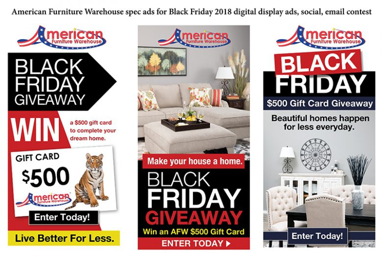 AFW Black Friday Spec Ads