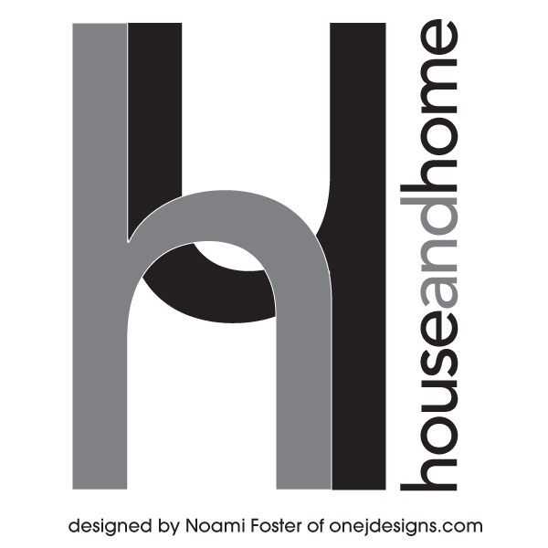 house and home logo design #1