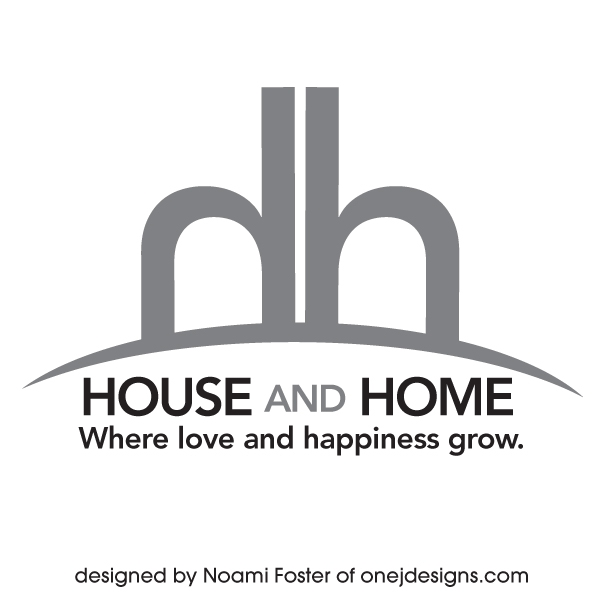 House and Home logo design #3